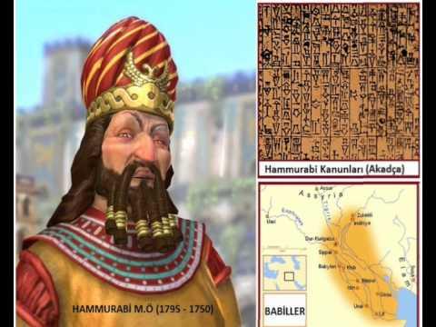 Hammurabi Kanunları M.Ö 1760