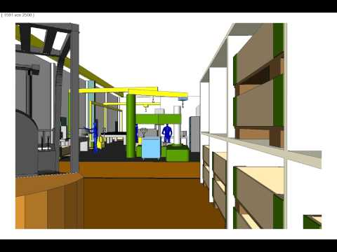 ifp consulting - Digitale Fabrik, Simulation