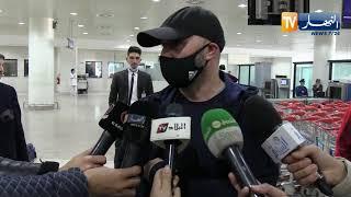 بلماضي يحل بالجزائر ويتحدث عن زطشي.. سليماني وبرنامج الخضر المستقبلي
