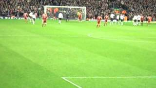 Steven Gerrard Penalty Liverpool v Fulham 9th of December 2006