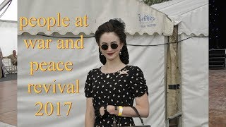 people at war and peace revival 2017 show hop farm beltring
