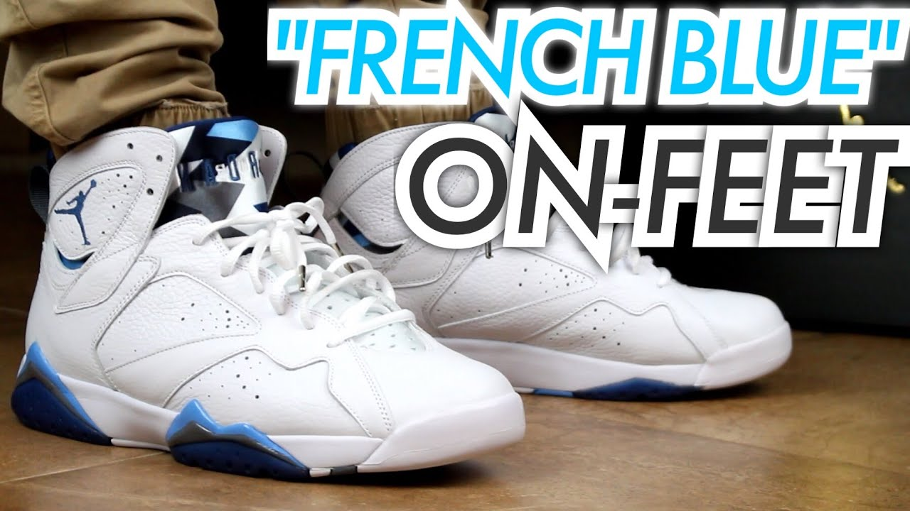air jordan french blue 7 gsp
