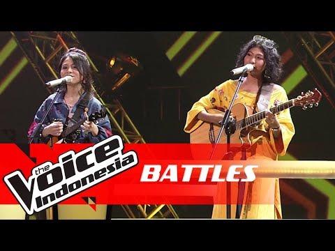 "Inggrid Vs Jaqlien ""Zona Nyaman"" | Battles | The Voice Indonesia GTV 2018"