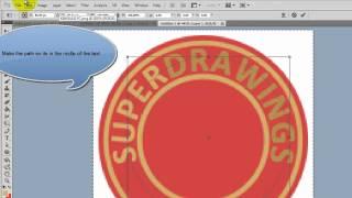 Round logo tutorial in Photshop CS5 [Beginners]