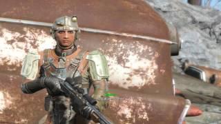 Мощный автомат Жми и Молись Fallout 4