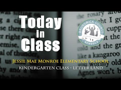 Kindergarten Letter Land - Jessie Mae Monroe Elementary School