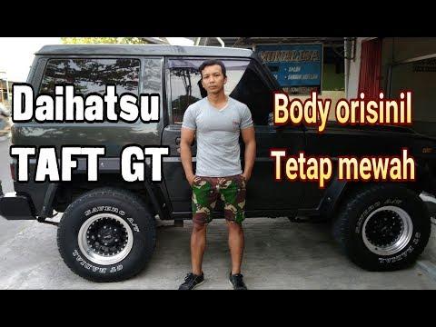 Modifikasi!!! Daihatsu TAFT GT body simpel tetep mewah / masih orisinil / otan gj