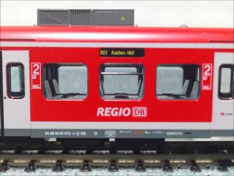 """KATO ET425 NRW Express und """"Hannover Airport"""""""