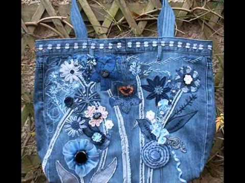 видео: Хотите выглядеть стильно? Модные сумки из джинсов