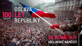 Oslava 100 let republiky - Milion chvilek pro demokracii