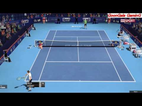Guido Pella - Richard Gasquet | 1st Round Swiss Indoors Basel 2016 TE 2013 Simulation