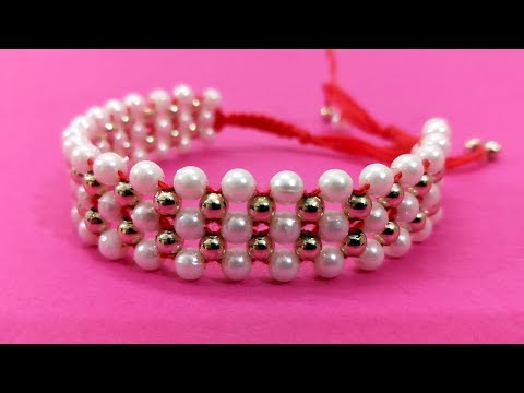 Beaded DIY Bracelets Ideas 2019 | How to Make Rakhi at Home | Designer Rakhi/Friendship Bracelet