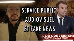 Service public audiovisuel et fake news.