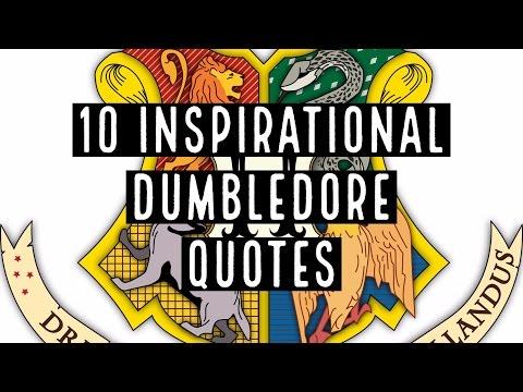 10 Inspirational Dumbledore Quotes | Harry Potter Quotes