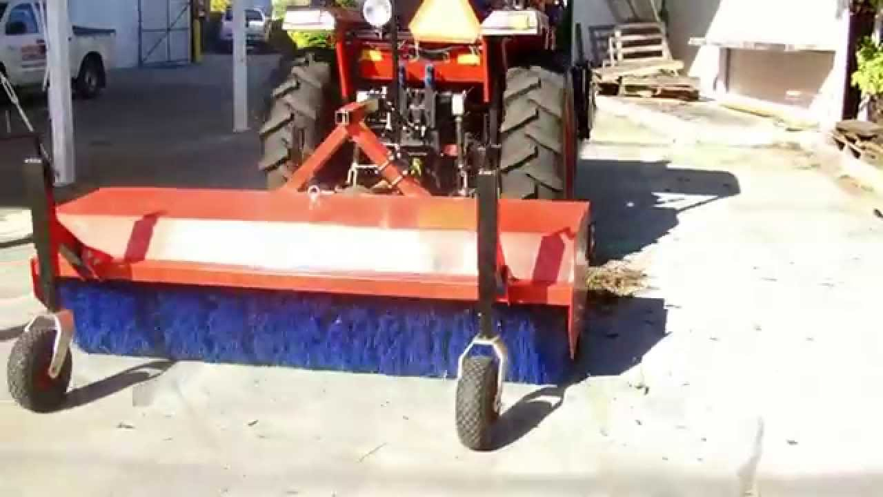 Apollo 454 Tractor And Road Street Sweeper Youtube