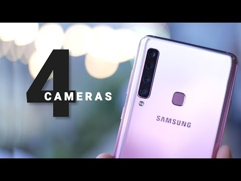 Galaxy A9 Hands On: Worlds First Phone with 4 Cameras!