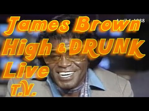 James Brown getting interviewed high.
