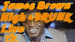 James Brown on CNN being interviewed high on PCP.