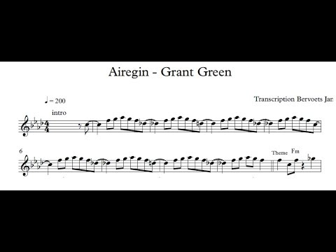 Airegin - Grant Green