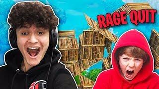 I 1v1'd Random Kids in Playground (Rage Quit)
