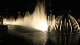 The dubai fountain - Baba Yetu (Christopher Tin)