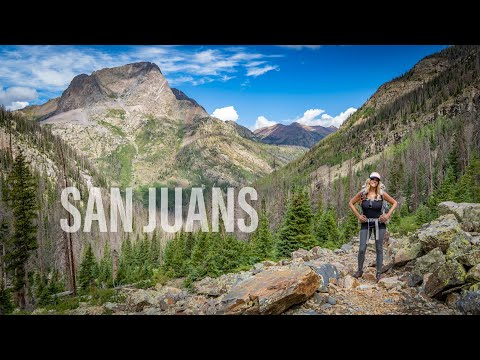Backpacking The San Juan Mountains 4K | Weminuche Wilderness | Continental Divide Trail