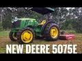 John Deere 5075E brand new!