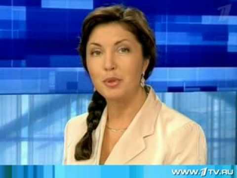 Юлия Щедрова на Первом канале