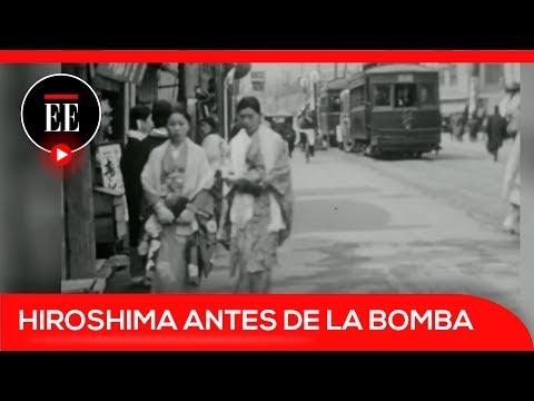 Publican un vídeo inédito de Hiroshima diez años antes de la bomba nuclear   El Espectador