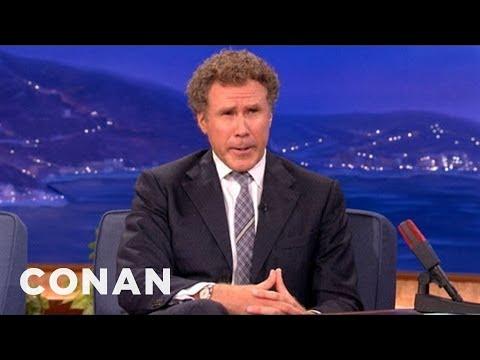When Will Ferrell Met George W. Bush - CONAN on TBS
