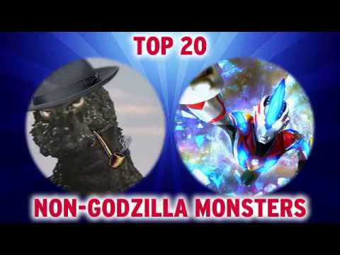 CHAT Top 20 Non Godzilla Monsters