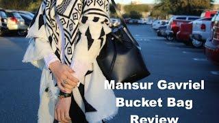 Mansur Gavriel Mini Bucket Bag Review| SoFashionBasic Thumbnail