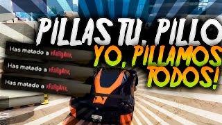 PILLAS TU PILLO YO PILLAMOS TODOS