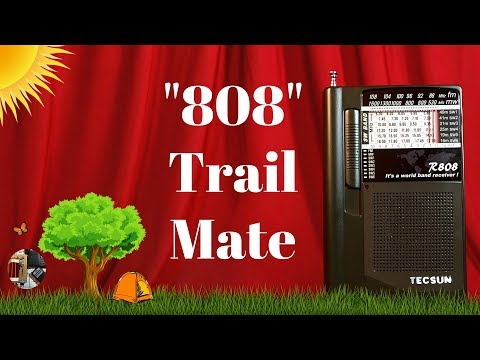 Trail Mate. Tecsun R-808 FM MW SW World Radio Review