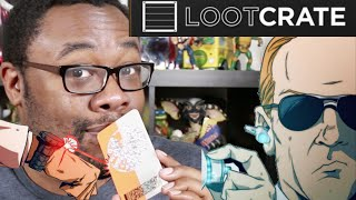 """LOOTCRATE """"Covert"""" Unboxing + MAD LIBS (March 2015) : Black Nerd"""