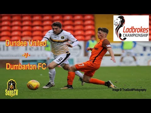 Dundee United FC v Dumbarton FC, Saturday 9th September 2017