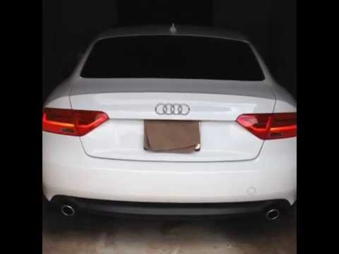 Audi A5 B8 W Facelift 2013 Led Tail Lights Youtube