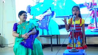 Little Girl Anura's Tamil Speech On Women's Safety at Lions Club Chennai