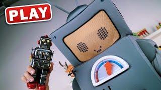 Пропали Игрушки Роботы - Кукутики и Пилот Сыщики - Приколы