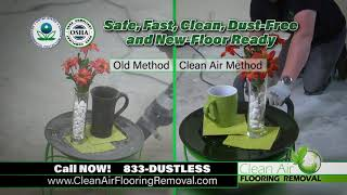 Breathe Easy, Choose Clean Air Flooring Removal