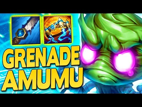 GRENADE AMUMU IS BACK! How to Play Amumu Jungle in Season 7 - League of Legends