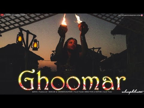 Padmavati : Ghoomar song | Dance cover | Choreographed by Payal Parekh | selenophile.star