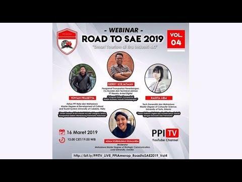 [LIVE] Smart Tourism di Era Industri 4.0 | Road to SAE 2019 Vol. 4
