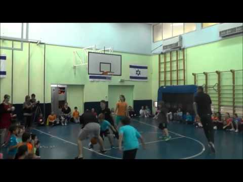 Rene Rougeau & Tomer Bar Even visit Romema School in Haifa