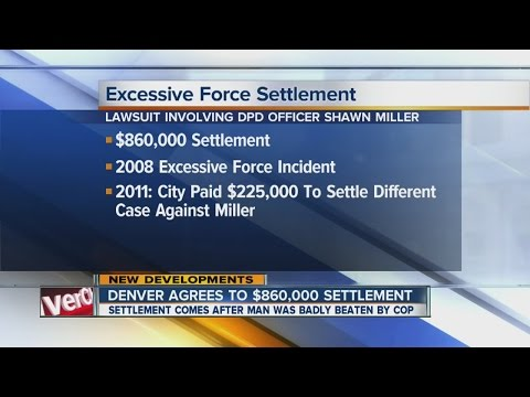 $860K settlement proposed in police brutality case