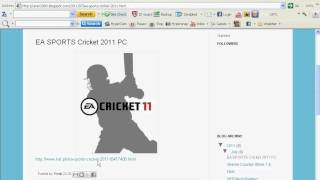 How to download Ea sports cricket 2011 torrent.