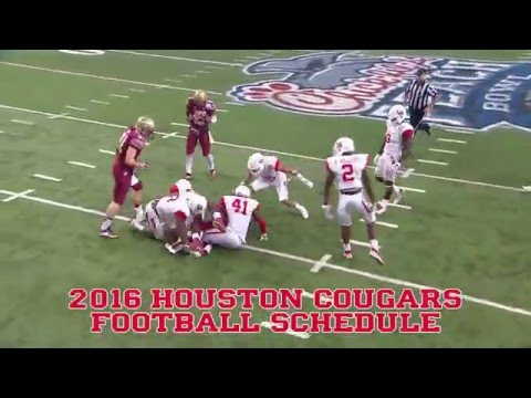 Houston Cougars 2016 Football Schedule
