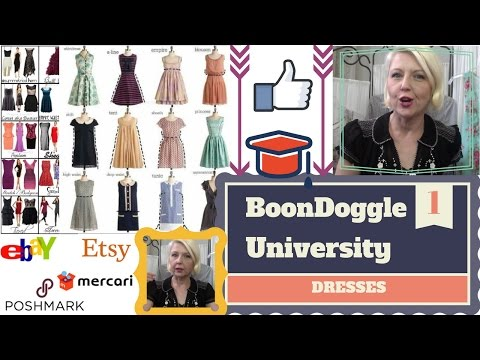 Reselling Dresses: Styles, Fashion, Clothing Key Terms, Desc