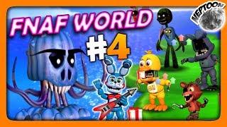 FNaF World (Мир ФНАФ) Прохождение #4 ✅ ПОКОРЯЕМ ОЗЕРО!