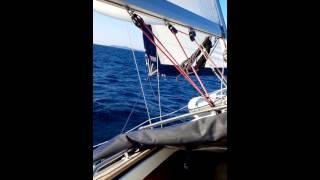 Download Video Sailing in Bura, Adriatic sea MP3 3GP MP4